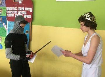 przedstawienie Excalibur