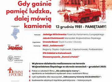 Plakat informacyjny o akcji.